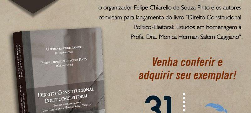 Lançamento: Direito Constitucional Político-Eleitoral